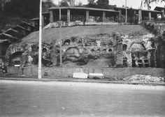 : Colombari presso la Rupe di San Paolo sulla via Ostiense, resti di un vastissimo sepolcreto di eta'repubblicano-imperiale in cui fu sepolto lo stesso Apostolo Paolo nel I secolo Anno: 1953