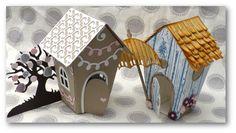 Coul'Heure Papier: Maison Sucrée Maison [Tutoriel] + CONCOURS