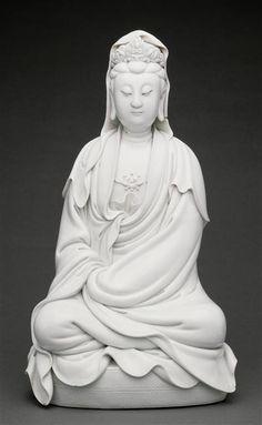 Guanyin He Chaozong (actif seconde moitié 17e siècle) Paris, musée Guimet - musée national des Arts asiatiques