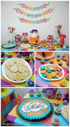Lalaloopsy Peanut Big Top birthday party ideas @ Molly Jasso