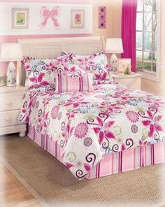 Cute little girls bedding!!