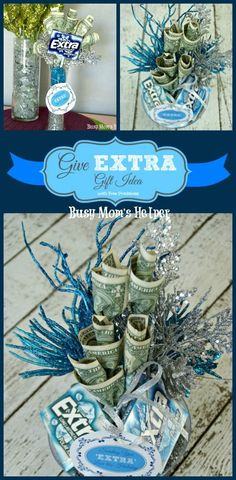Give Extra Gift Idea with Free Printables / by Busy Mom's Helper #GiftIdea #ExtraGumMoments #Shop #Printables