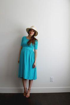 Easy diy maternity dress