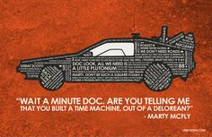 Back To The Future Quote Poster  11 x 17 by UnikoIdeas on Etsy, $18.00