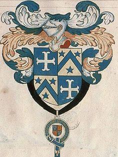 f°31. -- «Recueil de tous les chevaliers du tres noble Ordre de la Jarretiere», Paris, XVIIe s. [Bibl. Sainte-Geneviève, ms. 0937].