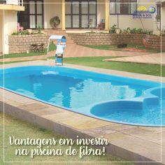 Se está pensando em investir em uma piscina neste ano, uma boa alternativa é a de fibra. As vantagens são: 👉 baixa manutenção; 👉beleza; 👉durabilidade; 👉rápida instalação e segurança!