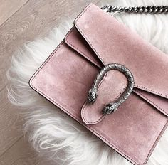 Gucci pink suede Dionysus bag