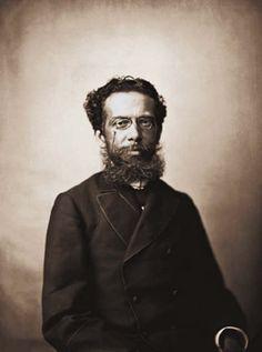 Machado de Assis em 1890, no Rio de Janeiro, fotografado por Marc Ferrez