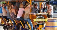 Social Cycle is San Diego and Palm Springs' ORIGINAL pedal pub party bike. Perfect for birthdays, bachelor/bachelorette parties, pub crawls, etc. Call 619-210-0202