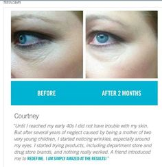 This Week Only...FREE EYE CREAM with every new Preferred Customer purchase! Our eye cream contains the highest concentration of peptides in the industry. It. Works. And risk free! 60-Day empty bottle money back guarantee! Message me at yourskincanglow@gmail.com for details!