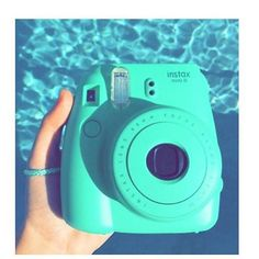 #turquoise #camera #instax #picture #selfie