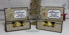 Crafty Christmas Countdown #4 – Gift Card Holder with Ferrero Rocher Chocolates. Video tutorial on my blog.