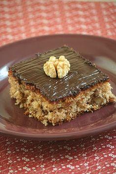 fahéjas-diós sütemény