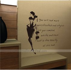 You Will Look More Sophisticated And Stglish Wall Sticker