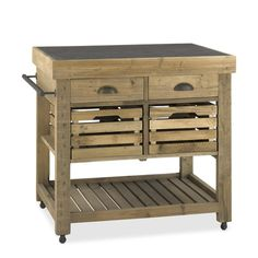 Stone Top Kitchen Island | Williams-Sonoma