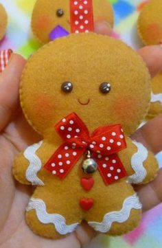 Gingerbread Faces Cute Christmas Digital Clipart Commercial Use OK Christmas Clipart Gingerbread Graphics Felt Christmas Decorations, Felt Christmas Ornaments, Christmas Toys, Homemade Christmas, Christmas Projects, Christmas Clipart, Pinterest Deco Noel, Felt Crafts, Holiday Crafts