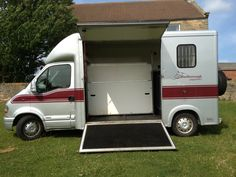 Horse minivan carries up to two horses | For sale on #HorseDeals