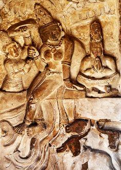 Yoga Wall Engravings, Indus Valley, Pakistan