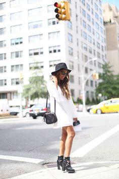 Stella Wants To Die in the Nasty Gal Ramble On Dress #whitedress #bellsleeves || Get the dress: http://www.nastygal.com/sale-dresses/nasty-gal-ramble-on-dress?utm_source=pinterest&utm_medium=smm&utm_term=ngdib&utm_content=nasty_gals_do_it_better&utm_campaign=pinterest_nastygal