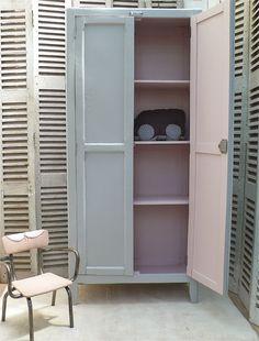 armoire parisienne vendue atelier vintage meubles parisiens. Black Bedroom Furniture Sets. Home Design Ideas