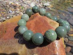 Agate bracelet natural handmade gemstone bracelet by LadyArtRali