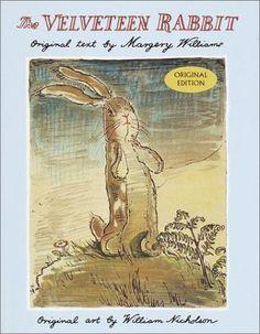 The Velveteen Rabbit by Margery Williams, http://www.amazon.com/dp/0385077254/ref=cm_sw_r_pi_dp_fxvKpb05J95N2