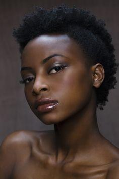 Afrikkalainen Ebony lesbot