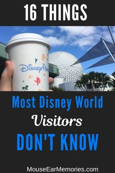 16 of Disney World's Secrets that most visitors don't know! A Must read before you go to the parks. Related posts:Hindsight is Here are nine things that would have made my Disney World V.Disney World resort tips Disney World Tipps, Disney World Secrets, Disney World Tips And Tricks, Disney Tips, Disney Ideas, Disney Worlds, Disney Disney, Disney World Hacks, Disney Bound
