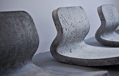 metrofarm berlin - concrete rocking chair