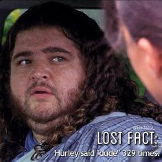 "Hugo ""Hurley"" Reyes, the SWEETEST character on Lost."