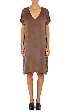 Charmeuse Scoopneck Dress
