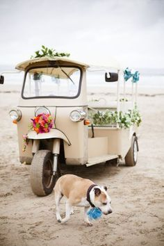 Hochzeitsautos von www. Boho Wedding, Floral Wedding, Summer Wedding, Wedding Cars, Wedding Ceremony, Phuket Wedding, Destination Wedding, Wedding Getaway Car, Bridal Car
