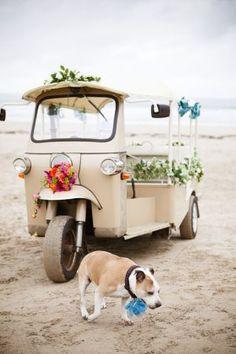 Wedding Rikshaw