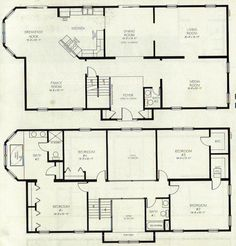 Two Story House Plan My dream house Pinterest Story house