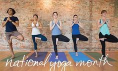 Celebrate National Yoga Month with Free Yoga Classes!