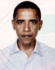 Barak Obama, photographed by Richard Avedon