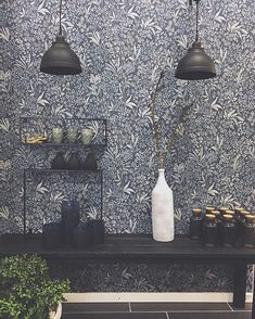 The post appeared first on Sovrum Diy. Brewster Wallpaper, Small Condo, Interior Wallpaper, Nocturne, Scandinavian Interior, Vintage Walls, Room Colors, Designer Wallpaper, My Dream Home