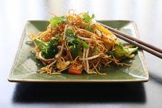 simple series   Ultimate Simple Stir-Fry Easy Stir Fry, Japchae, Fries, Simple, Ethnic Recipes, Food, Essen, Meals, Yemek