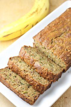 Paleo Banana Zucchini Bread (Gluten-Free, Grain-Free)