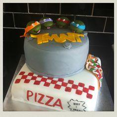TMNT Cake - Groom cake idea
