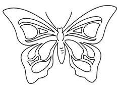 Risultati immagini per farfalle di carta da ritagliare