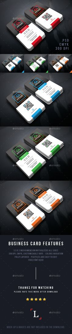 Creative Photographer Business Cards
