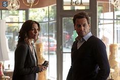 """#Forever 1x02 """"Look Before You Leap"""" - Detective Jo Martinez and Henry"""