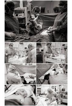delaware birth photographer, c-section birth
