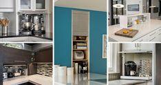 Kitchen Design Idea - Store Your Kitchen Appliances In An Appliance Garage