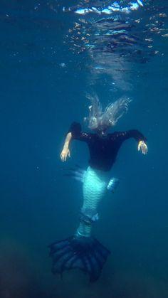 Fin Fun Mermaid Tails, Silicone Mermaid Tails, Fantasy Creatures, Sea Creatures, Real Mermaids Found Alive, Mermaid Gifs, Realistic Mermaid, Mermaid Poster, Underwater Video