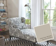 From our Summer 2013 Catalog: Sherwin Williams #SW7030, Anew Gray.