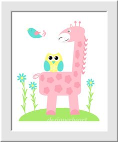 https://www.etsy.com/es/listing/129942000/baby-girl-nursery-wall-art-pink-yellow?ref=related-2