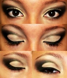 Black and white http://www.makeupbee.com/look_Black-and-white_35558