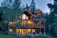Colorado lake home